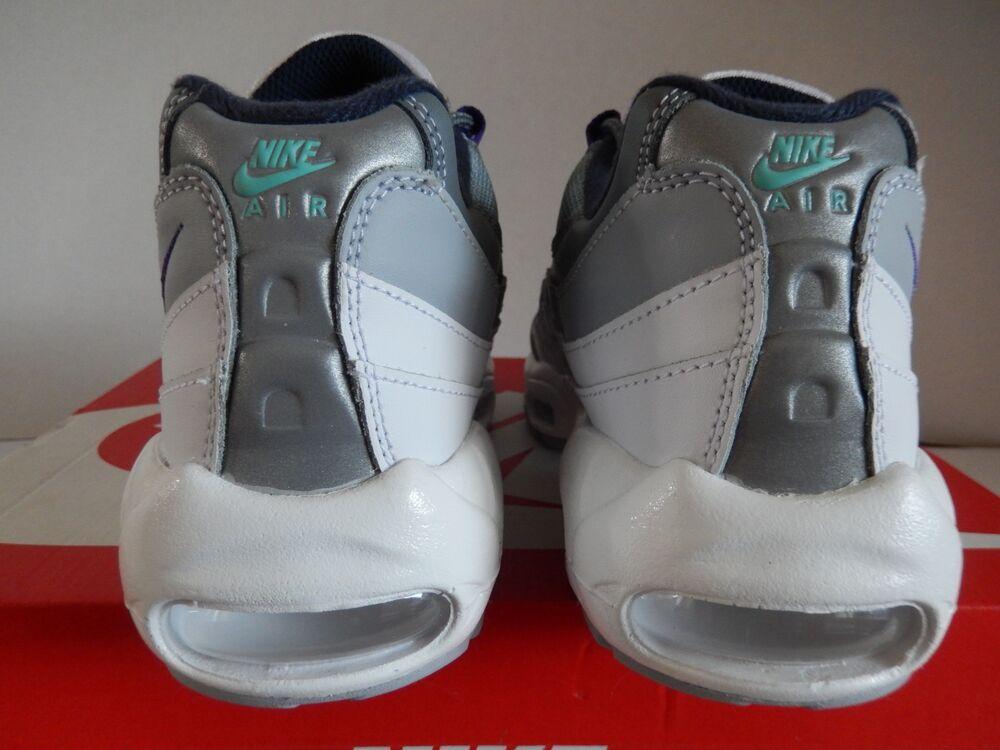 WMNS NIKE AIR MAX 95 ID BLANC-GREY-JADE-PURPLE Homme  Chaussures et de sport pour hommes et Chaussures femmes 62e843
