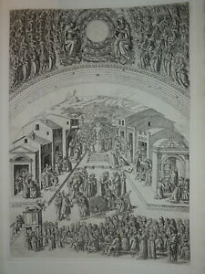 Baccio-BALDINI-1436-1487-GRAVURE-RENAISSANCE-PREDICTION-MARC-FIRENZE-ITALIE