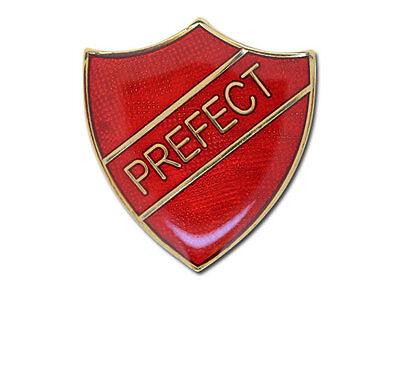Prefect Shield School Enamel Badges