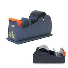 New Blue Heavy Weight Packing Tape Desktop Bench Dispenser Multi Roll 25mm 50mm