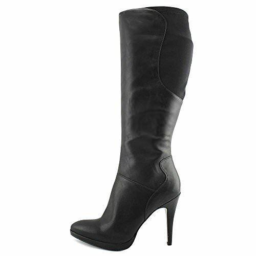 Nine West Dark Marrón Size Soft Leather Boots Size Marrón 9 NEW IN BOX usados una vez 938418