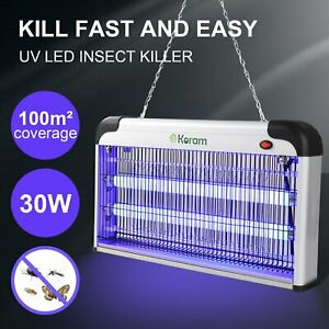 UV-Night-Lamp-Electric-Control-Fly-Bug-Insect-Trap-Zapper-Pest-Mosquito-Kill-30W
