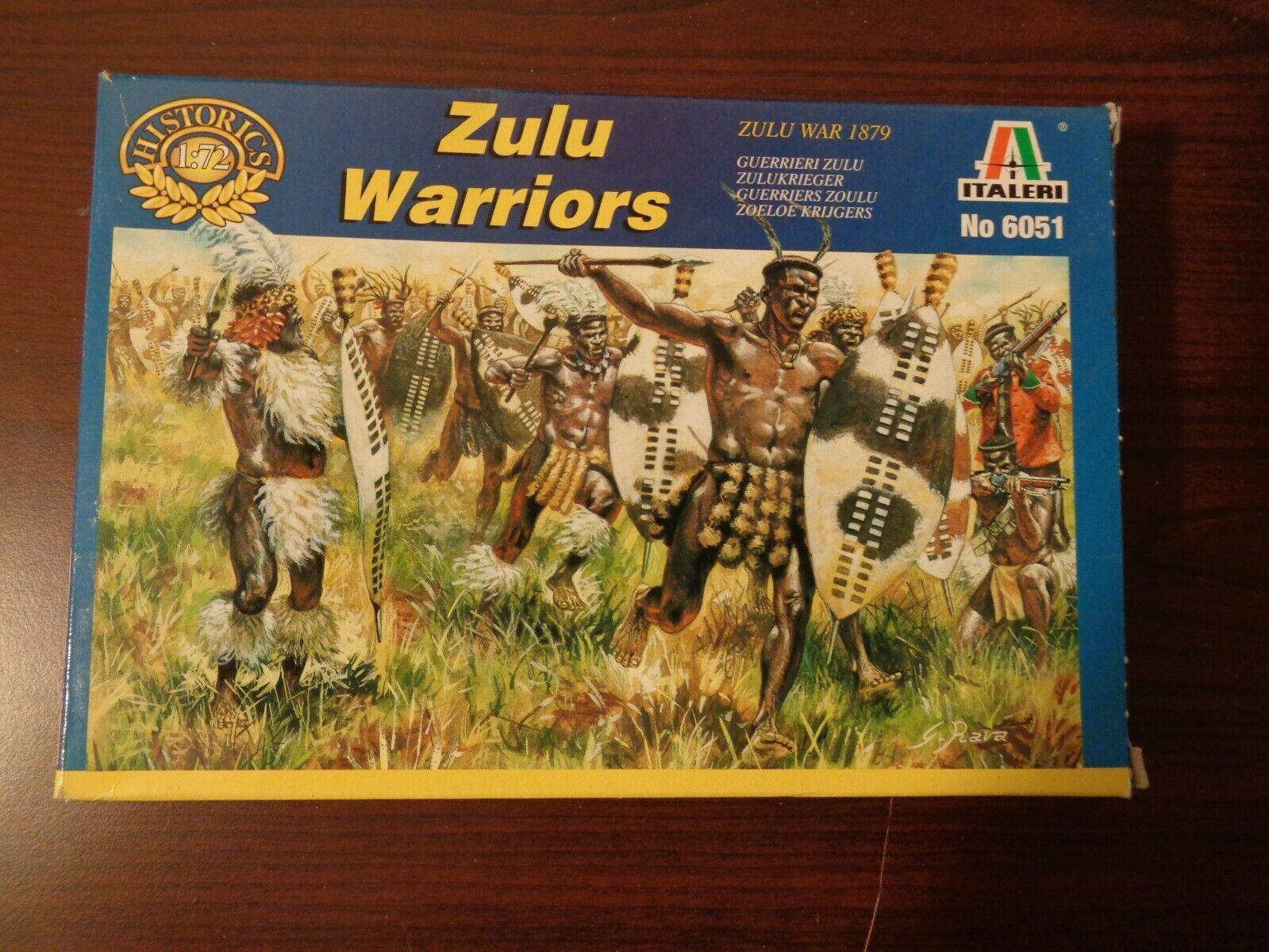 Zulu Warriors colonial et Zulu Wars 1//72 ITALERI Set 6051