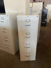 4dr Legal Size File Cabinet By Hon Office Furniture In Putty Color With Lock Amp Key