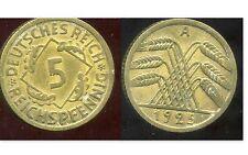 ALLEMAGNE 5  reichspfennig  1925 A