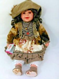 "Vtg 1997 Kinnex Doll /""Grace/"" w//music box Twinkle Twinkle 23/"" w//COA tag"