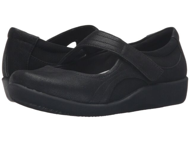 4c1d1b23504 Women's Shoes Clarks SILLIAN BELLA Casual Mary Jane Flats 21457 BLACK
