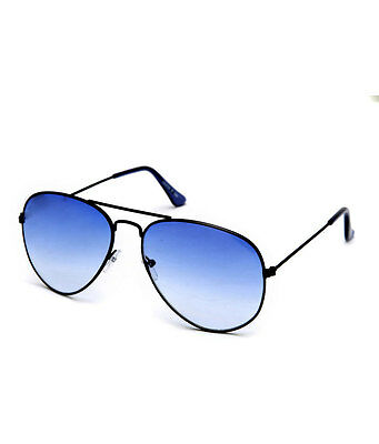 Super-X Unisex Blue Designer Aviator Sunglasses (Super-X AV008)