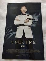 Spectre 11x17 Original Promo Movie Poster Mint James Bond 007 Daniel Craig 2015