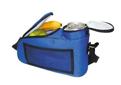 Picnic Cooler Basket Insulated Hamper 22 lt Aluminium Frame Lunch Shopping Beach