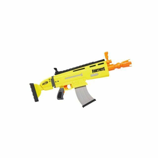 Fortnite Nerf Dart Blaster Gun AR-L Elite Motorized 10-Dart Blasting Kids Toys