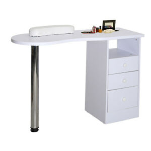 Modern Manicure Table Nail Station Desk Beauty Stand