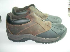 mens brown black propet snow winter rain boots casual
