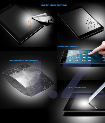 """TEMPERED GLASS SCREEN PROTECTOR COVER FOR SAMSUNG GALAXY TAB S3 9.7/"""" SM-T820//825"""