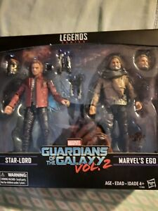 Marvel Comics Marvel Legends Star-Lord and Ego 2 pack brand new Guardians Galaxy