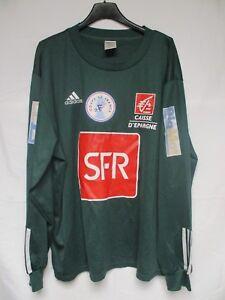 Adidas Manches Porté Coupe Vert Maillot Sfr Vintage De France N°3 FO788Wvqz