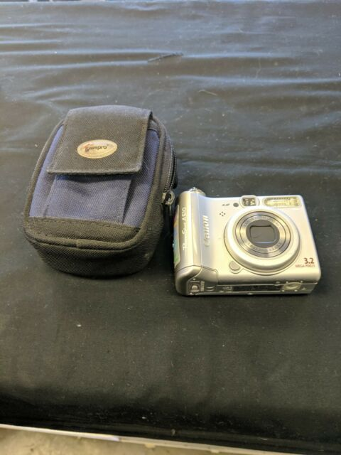 Canon PowerShot A510 3 2 MP Digital Camera / Manuals & CD 4x Optical Zoom