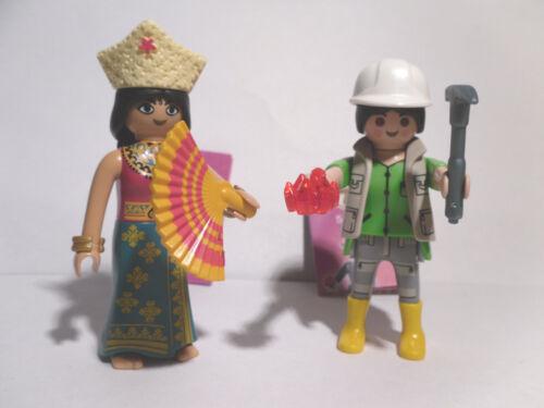 geologo Serie 7 2 x PLAYMOBIL 5538 girls orientalin NUOVO
