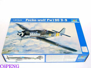 Trumpeter-02411-1-24-Focke-wulf-Fw190-D-9-hot