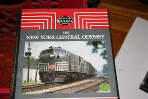 VHS-VIDEO-2-TAPE-SET-TITLED-NEW-YORK-CENTRAL-ODYSSEY-HOWS-SLIGHT-USE