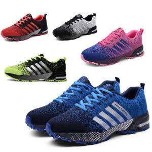 Scarpe-da-ginnastica-uomo-donna-unisex-fitness-sport-palestra-corsa-moda-Running