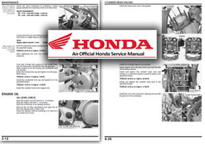honda xl700 transalp service workshop repair manual shop xl 700 rh ebay co uk Honda XR650L Honda XL1000V Varadero