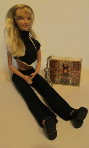 Plays Stronger 2000 Britney Spears Doll with MCD Musical Keychain