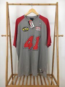 NWT-Chase-Authentics-Men-039-s-Drivers-Line-41-Reed-Sorenson-Nextel-T-Shirt-Size-XL