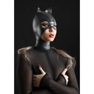 Patrice-Catanzaro-Beta-Cagoule-petit-chat-sexy-wetlook-vinyle-pour-catsuit