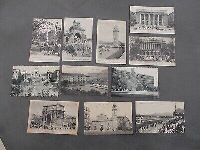 Lot de 20 Cartes Postales Marseille Vintage