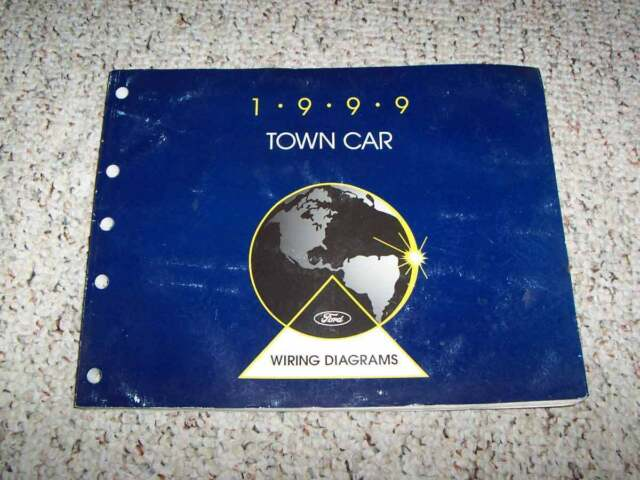 1999 Lincoln Town Car Electrical Wiring Diagram Manual