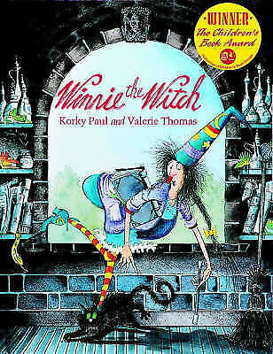 """""""AS NEW"""" WINNIE THE WITCH, Thomas, Valerie, Book"""