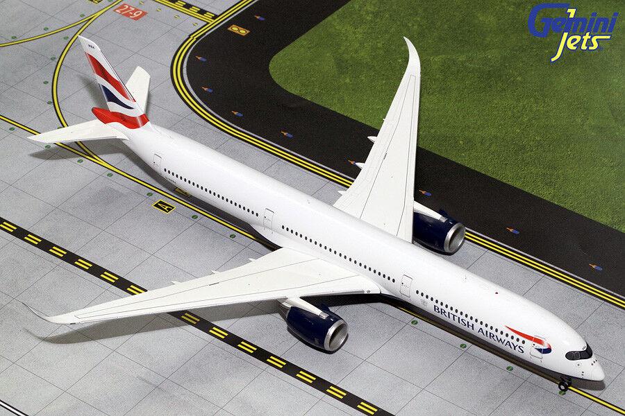 Gemini Jets 1 200 British Airways Airbus A350-1000 G-XWBA G2BAW784