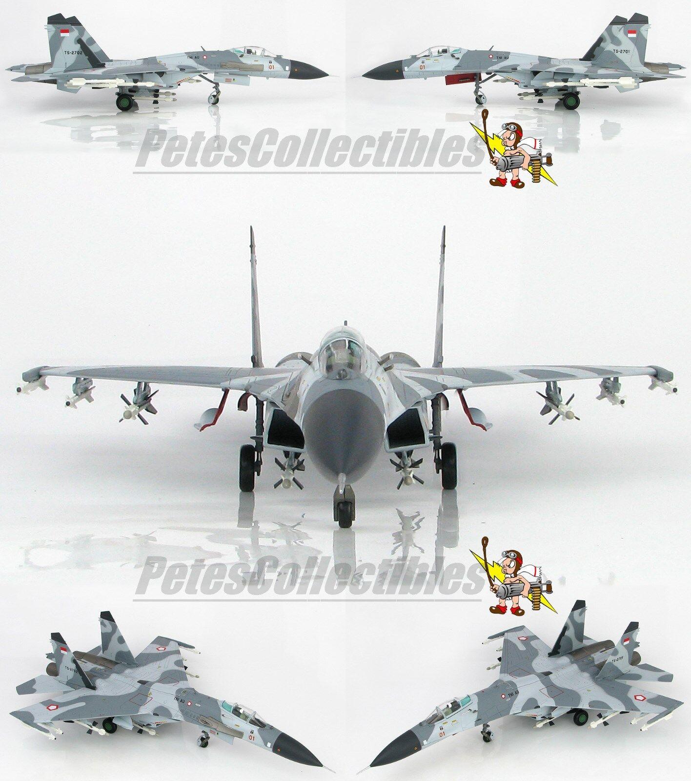 Hobby Master HA6004 Su-27SK Flanker B TS-2701 11th Esron Indonesian Air Force