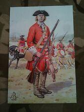 Military Postcard Derby's Regiment Blenheim 1704  by Alix Baker