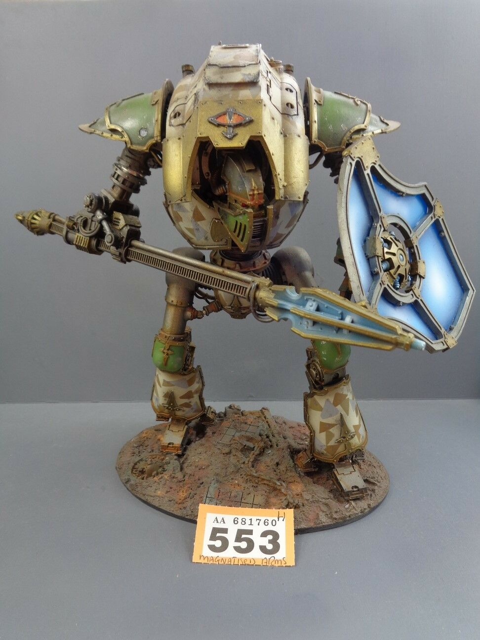 Warhammer Space Marines Imperial Knight Forge World cerastus Lancer 553