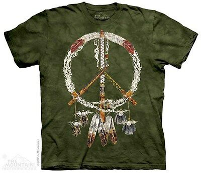 New INDIAN PEACE PIPES T Shirt