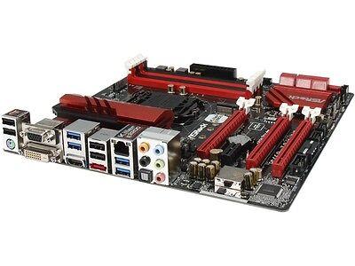 ASRock Fatal1ty Z97M Killer LGA 1150 Intel Z97 HDMI SATA 6Gb/s USB 3.0 Micro ATX