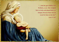 Mary Holding Jesus Box Of 18 Religious Christmas Cards By Designer Greetings