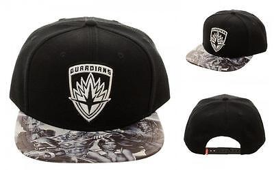 GUARDIANS of the GALAXY 2 Licensed LOGO Emblem BASEBALL CAP Snapback HAT
