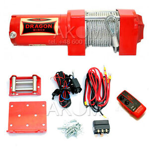f891572ddcb DRAGON WINCH 3500 ST 12V ATV BOAT TRAILER 3500 lb HIGH QUALITY full ...