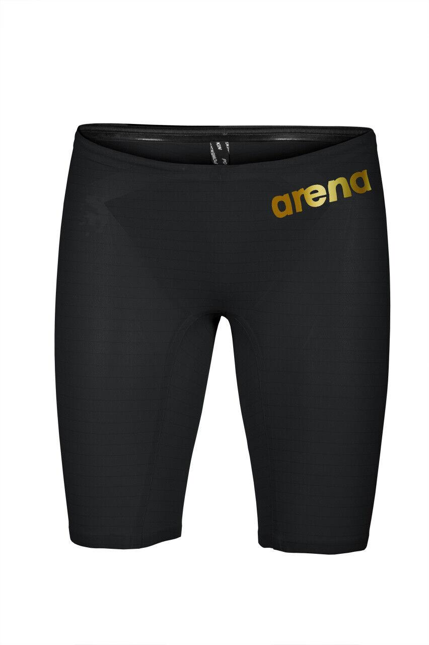 Arena Powerskin Carbon Air2 Jammer-Badehose Schwarz/Gold