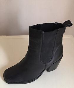Women's Boots Next Black Leather Block