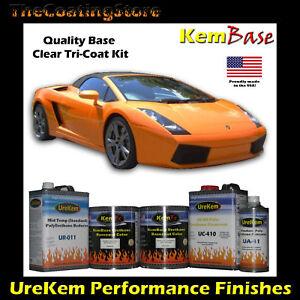 Lamborghini Orange Pearl Tri Coat Auto Car Paint Kit Ebay