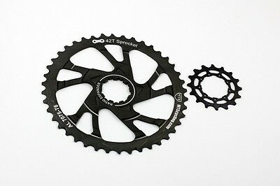 Cycling Mts 42t 16t Al7075 Sprocket Cog For Sram Pg1030 Pg1050 Pg1070 11-36 Cassettes Low Price Cassettes, Freewheels & Cogs