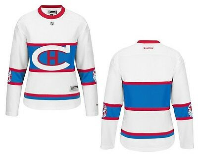 new style 15e5c 52a4a NHL Montreal Canadiens AWAY WHITE Women's Winter Classic ...