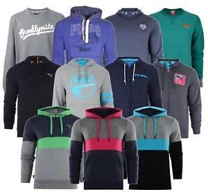 Mens-Puma-Heritage-Logo-Hoodie-Crew-Neck-Sweatshirt-Jumper-Designer-Hooded-Tops