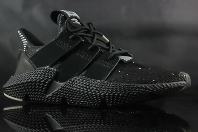 clearance prices good looking separation shoes MENS RUNNING SHOE ADIDAS PROPHERE B22681 BLACK WHITE GREY SIZE: 9