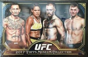 Karty na wymianę 2017 Topps UFC FIRE EXCLUSIVE Factory Sealed HOBBY BOX-AUTHENTIC UFC AUTOGRAPH