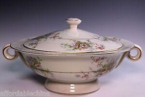 theodore haviland limoges apple blossom covered vegetable bowl ebay. Black Bedroom Furniture Sets. Home Design Ideas